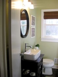 "Tackling The Bathroom: The Big Reveal | Young House Love -- inc a budget breakdown... AND, love the ""subway tile""..."