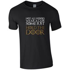 """Wave hello to this awesome Mens Game of Thrones """"Not all Heroes Wear a Cape, Some Just ...  https://www.etsy.com/listing/469361894/mens-game-of-thrones-not-all-heroes-wear?utm_campaign=crowdfire&utm_content=crowdfire&utm_medium=social&utm_source=pinterest #notallheroeswearacape"""