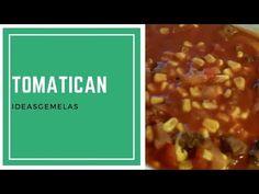 RECETA: COMO HACER TOMATICAN   TOMATO STEW CON IDEASGEMELAS - YouTube Youtube, Food, Recipes, Spice, Essen, Meals, Youtubers, Yemek, Youtube Movies