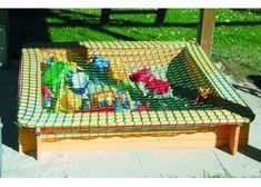 Kattnät för sandlåda. Enkelt och effektivt - olika storlekar! - ScanCord Outdoor Furniture, Outdoor Decor, Hammock, Survival, Kids, Gardens, Outdoors, Cozy, Home Decor