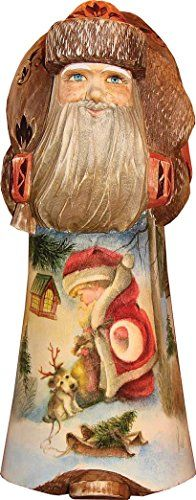 """Christmas Fun Figurine 8″h, Handpainted Woodcarved """"Masterpiece"""" Fine Art Collection  http://www.fivedollarmarket.com/christmas-fun-figurine-8h-handpainted-woodcarved-masterpiece-fine-art-collection/"""