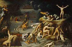 Antonio Carracci - Die Sintflut
