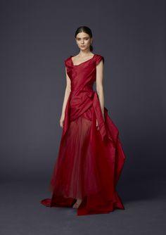 Grande Kilt Dress - Vivienne Westwood Fall 2015 Couture #AW1516