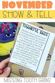 Thankful Bags