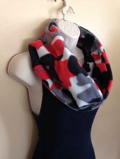 New to Sewdivine77 on Etsy: Camo infinity fleece scarf (13.00 USD)