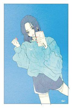 Image about girl in anime by AngelaFerrero on We Heart It Manga Anime, Fanarts Anime, Manga Art, Anime Characters, Anime Art, Character Illustration, Illustration Art, Character Art, Character Concept