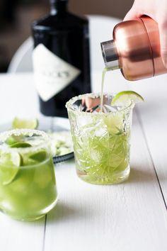 Cucumber gin cocktail / Fanni ja Kaneli