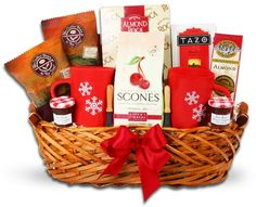 Breakfast in Bed Gift Basket Holiday Baskets, Food Gift Baskets, Breakfast Basket, Breakfast
