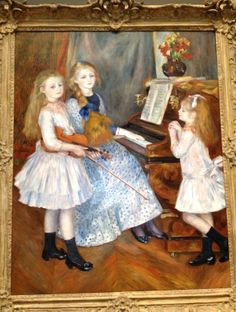 daughters of catulle mendes Pierre Auguste Renoir art for sale at Toperfect gallery. Buy the daughters of catulle mendes Pierre Auguste Renoir oil painting in Factory Price. Pierre Auguste Renoir, Claude Monet, Artist Canvas, Canvas Art, Large Canvas, Canvas Size, August Renoir, Renoir Paintings, Painting Prints