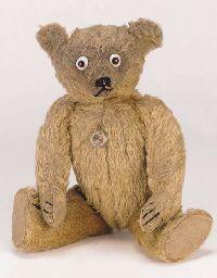 A rare British teddy bear
