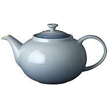 Buy Le Creuset Stoneware Classic Teapot, 1.3L Online at johnlewis.com