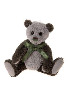 Charlie Bears 2016 Keyring Tweed
