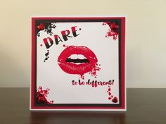 Fantastic card by Sue Joseph. Bad Day Quotes, Image Stamp, Pretty Cards, Distress Ink, Different, Cardmaking, Paper Crafts, Shapes, Creative