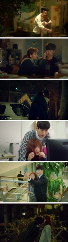 [Spoiler] Added final episode 16 captures for the #kdrama 'Cheese in the Trap'
