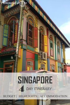 Going to Singapore? Read everything you need to know in one complete and detailed guide including the needed average daily budget and a 4-day itinerary with map and all the sights!: