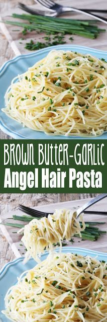 Nutty brown butter is infused with garlic in this incredibly easy pasta side dish. Brown Butter Garlic Angel Hair Pasta is a quick and versatile side dish that you'll use again and again.