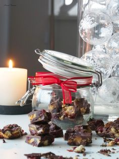 DIY Rocky Road in a Jar for Christmas