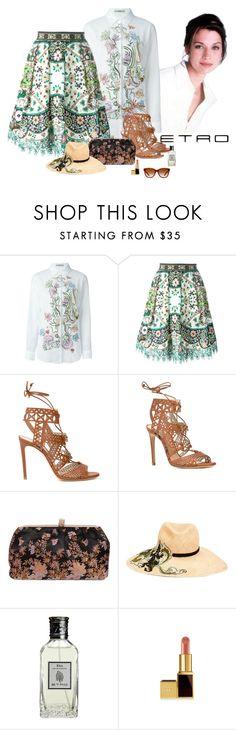 """""""Etro Spring Summer 2016"""" by katiethomas-2 ❤ liked on Polyvore featuring Etro and Casadei"""
