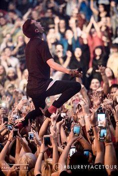 Was here!! xD Omaha Blurryface Concert 2015 Twenty One Pilots