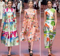 Dolce & Gabbana Fall 2015 Ready-to-Wear Collection Photos - Vogue Moda Fashion, Fashion Week, Runway Fashion, High Fashion, Fashion Show, Womens Fashion, Fashion Design, Vogue Fashion, Fashion 2015