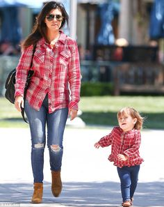 She's off! Kourtney Kardashian was joined by her 20-month-old daughter Penelope for a WALK in Calabasas at the weekend