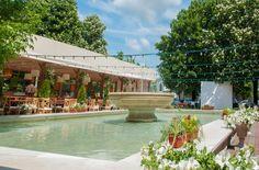 fountain Courtyard Restaurant, Fountain, Water Fountains
