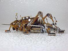 Steampunk-Clockpunk Bugs 06 by dkart71.deviantart.com