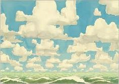O vento transporta tanto vapor de auga como a que se verte nos mares: 45.000km³ ao ano. #30pingas Obra: Aaron Morse