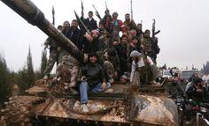 Хохлы в Сирии. Скоро бежать в хохляндию.......