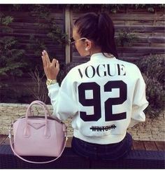 Veste Bombers Femme Vogue Style Hip Hop Nouvelle Tendance