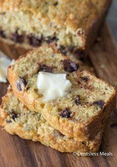 Cake Mix Banana Bread-22