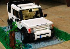 LR3 made of Legos