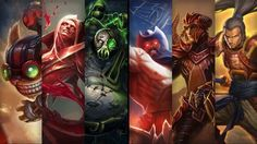 League of Legends- Champion and Skin Sale