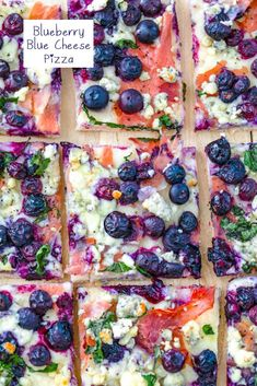 Blueberry and Blue Cheese Pizza Recipe | We are not Martha