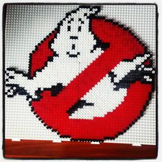 Ghostbusters hama beads by mad_moxxi_