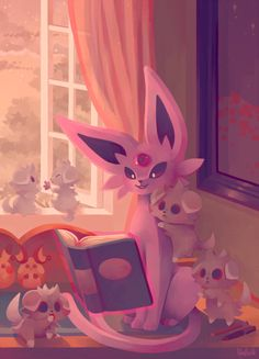 pombei:  Eevee House - Espeon Psychic cat and psychic...