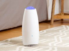 Airfree is an air purifier for mold, dust mites, and other allergens that works stealthily to clean the air in your space. Because there are no moving parts or fans, the purifier is completely silent. And it's close-to-effortless to operate, too—simply tu
