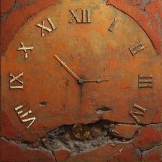 "nocttis: "" Jaroslaw Kukowski The Clock V "" Unusual Clocks, Cool Clocks, 1 Peter, Arno, Tick Tock Clock, Father Time, Somewhere In Time, Time Clock, Clock Decor"