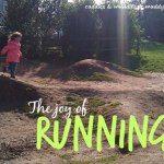 The joy of running Outdoor Play, Mud Kitchen, Joy, Running, Party, Link, Ideas, Outdoor Games, Glee