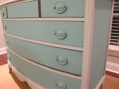 The Mended Nest: Mended Furniture - Serpentine Dresser (Re-Post)