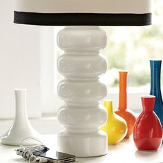 Lamp Options from Pottery Barn.