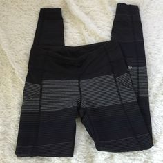 Lululemon speed tights sz 6 Really good condition. Please check out my other items and bundle for a discount. Please no low balls and I only trade for Lululemon lululemon athletica Pants Leggings
