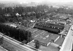 The site between Derby Road and Clifton Boulevard in 1969 of what is now the campus to the Queen's Medical Centre, Nottingham. History Photos, Nottingham, Train Station, Derby, Centre, Nostalgia, The Past, Medical, Memories