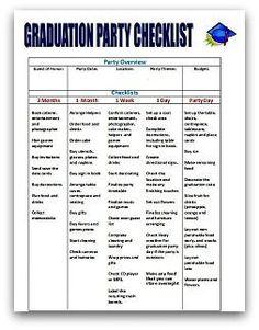 graduation party quick plan More