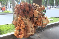 Made from bamboo