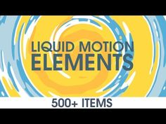 Videohive Liquid Motion Elements - After Effects Project After Effects Projects, After Effects Templates, Element Project, Drawing Frames, Adobe, After Effect Tutorial, Creative Suite, Logo Reveal, Animation Tutorial