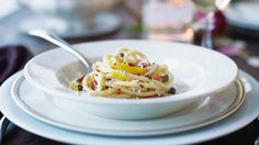 Pucker Up! Romantic Dinner Recipes for Valentine's Day: Lemon Pasta #Hallmark #HallmarkIdeas