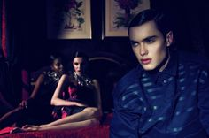 'The Opium Den' Editorial Shoot inspired by Oscar Wilde's 'Dorian Gray' for Ben Trovato online. Photographer - Alice Luker