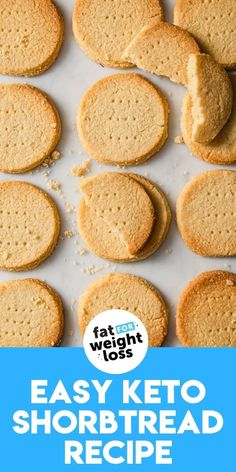 Shortbread Recipes, Shortbread Cookies, Keto Cookies, Sugar Free Desserts, Sugar Free Recipes, Low Carb Recipes, Keto Desserts, Easy Recipes, Cooking Recipes