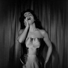 Amália, NY 1952 by Allan Grant